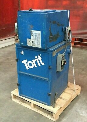 Torit Dust Collector Package W Model 64 Cab Collector Model Dmc-a Air Filter