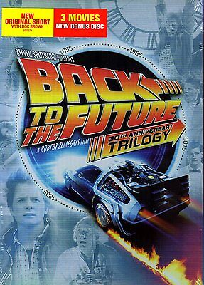 Back to the Future 30th Anniversary Trilogy (DVD, 2015, 5-Disc Set)