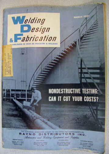Welding Design and Fabrication magazine - 4 issues