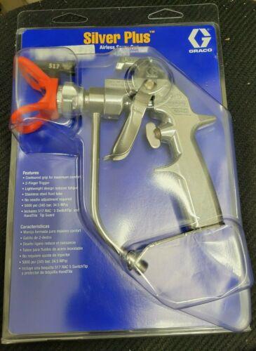 *BRAND NEW* Graco 243283 Silver Plus Airless Spray Gun w/ 517 RAC 5 Tip *NIB*