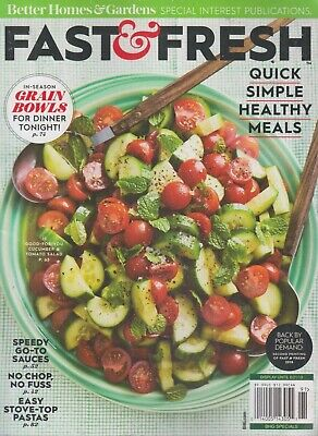 Better Homes & Gardens Fast & Fresh 2019 Quick Simple Healthy Meals