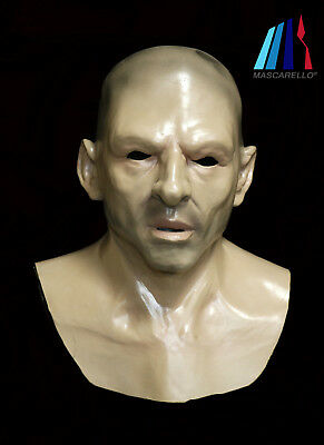 Realistic Bald Old Man Mask Latex Human Face Mask Halloween Fancy Costume - Bald Old Man