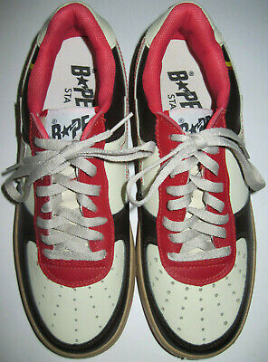 Vintage Rare Replica A Bathing Ape Bape-Sta Kanye West Shoes 10 (NOT Authentic)