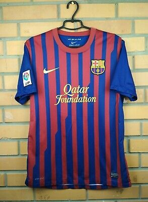 1749d252963 Barcelona jersey medium 2011 2012 home shirt 419877-486 soccer football  Adidas