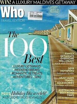 WHO TRAVEL EDITION THE 100 BEST LUXURY GETAWAYS WEEKEND BREAKS ROMANTIC