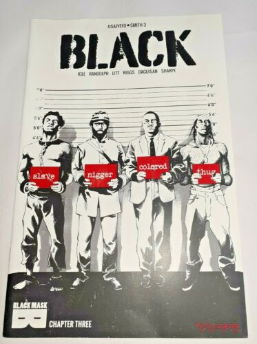 BLACK issue # 3 - Black Mask Comics (2016) - Excellent unread - Sleeve & backed