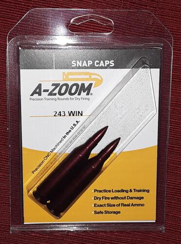Lyman A-Zoom .243 WIN Aluminum Snap Caps