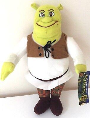 SHREK PLUSH. LARGE 13'' TOY DOLL. NEW. LICENSED. DREAMWORKS. - Shrek Kids