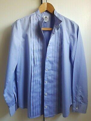 J CREW THOMAS MASON BLUE SHIRT UK 14 16 (US 12)