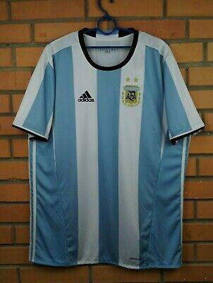 cfea078a8b9 Argentina soccer jersey XL 2016 home shirt AH5144 football Adidas