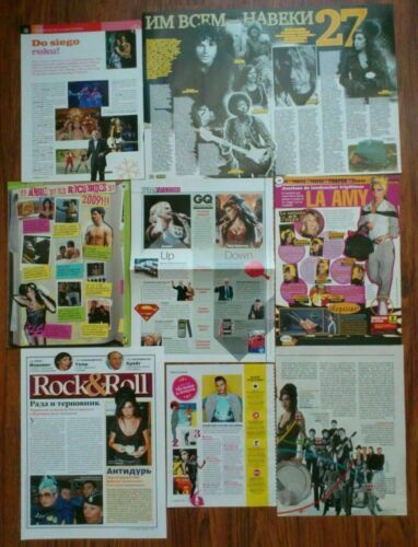 Amy Winehouse magazine clippings