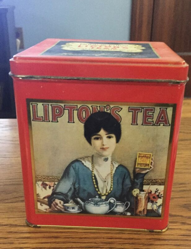 Vintage Liptons Tea Nostalgic Tin Collection Series #101
