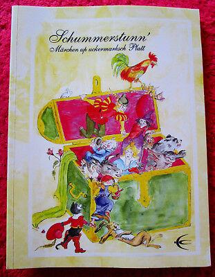 Gebraucht, MÄRCHEN AUS DER UCKERMARK - PRENZLAU auf Plattdeutsch Schibri SCHUMMERSTUNN gebraucht kaufen  Carmzow-Wallmow