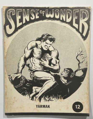 Sense of Wonder #12 Fanzine Bill Schelly 1972 Diamond Publications