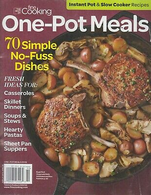 The Best of Fine Cooking One-Pot Meals 2019 Instant Pot & Slow Cooker