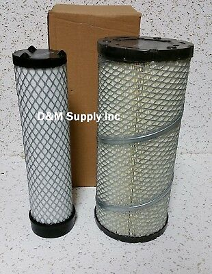 John Deere Skid Steer Inner Outer Air Filter Set 240 250 270 Ct322 317