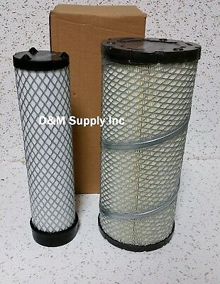 John Deere Inner Outer Air Filter Set 1600 1620 3120 3203 3320 3520 3720 4105