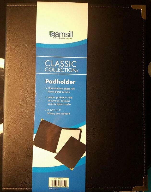 Samsill Classic Collection Business Padfolio/Executive Portfolio, Faux Leather &