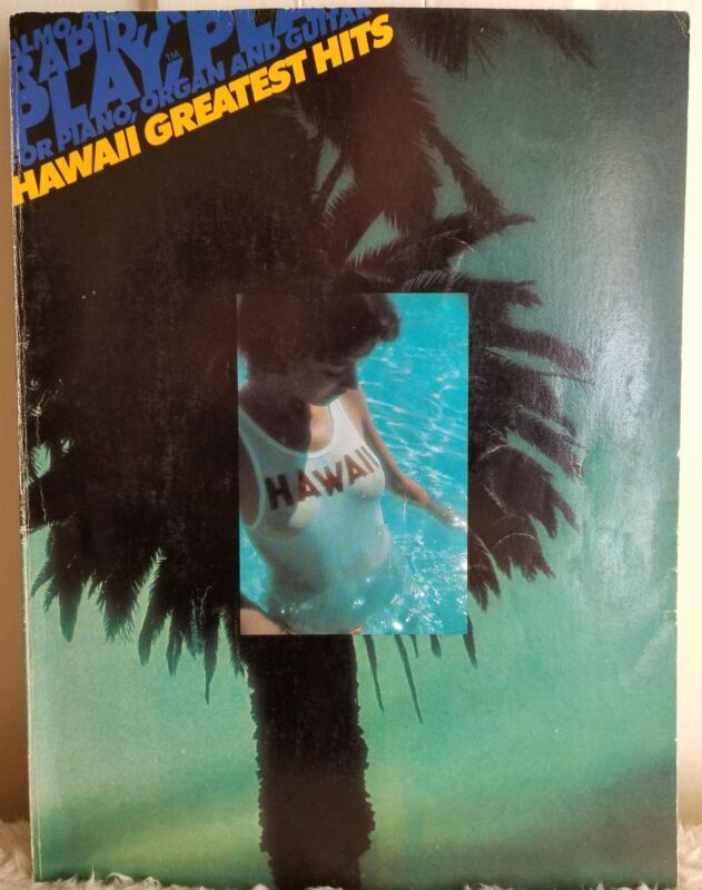 Almo Easy Play Hawaii Greatest Hits  Piano & Guitar Vintage Songbook