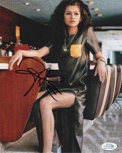 Zendaya Sexy  Autographed Signed 8x10 Photo ACOA