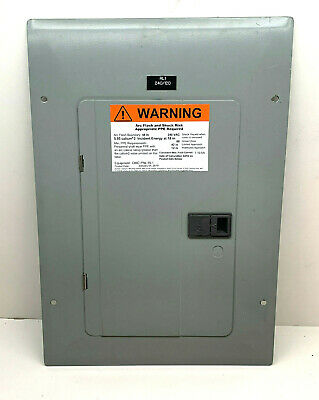 Eaton Circuit Breaker Panel Cover For 3-phase Main Disconnect Panel