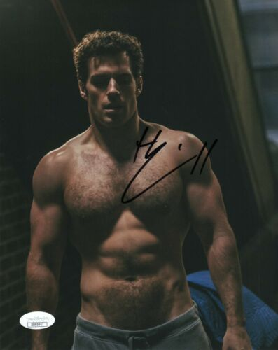 Henry Cavill Mission Impossible Autographed Signed 8x10 Photo COA EF174