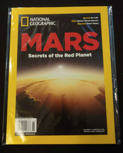 National Geographic Mars Secrets of the Red Planet  NEW!