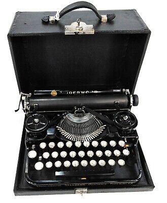 Máquina de escribir Underwood 3Bank Nº - SERIE 184282 - Año 1925 aproxim.