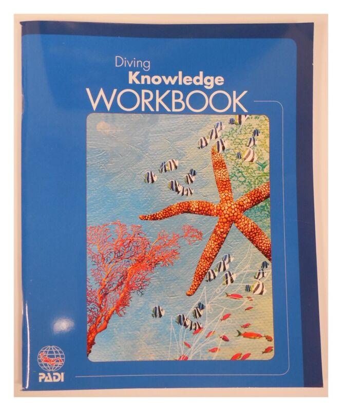 Padi Diving knowledge workbook Book 12 ounces Scuba & Freediving