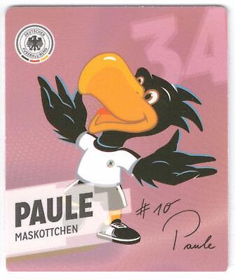 34 Paule - REWE Offizielles DFB-Sammelalbum WM 2014 (2) gebraucht kaufen  Gladbeck