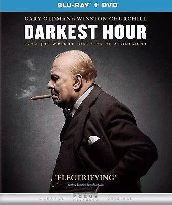 Darkest Hour Blu Ray Dvd Digital New Unopened Free Shipping