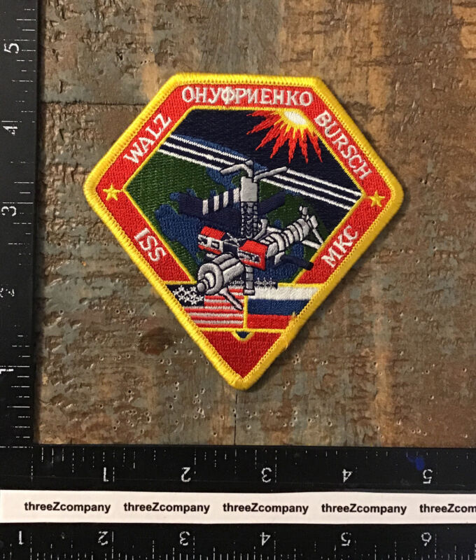 NASA International Space Station Expedition 4 Mission Patch ISS