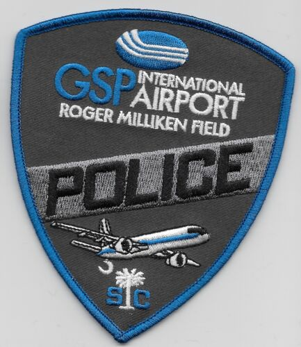 G S P Intl Airprt Police State South Carolina SC NEW