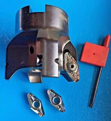 Lmt-fette 1 X 90 Cutter Head Fmz90 V22.066an-i For Nf-metals And Plastics