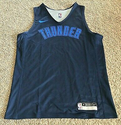 Nike Authentic NBA OKC Thunder Reversible Practice Jersey - Men's M - New