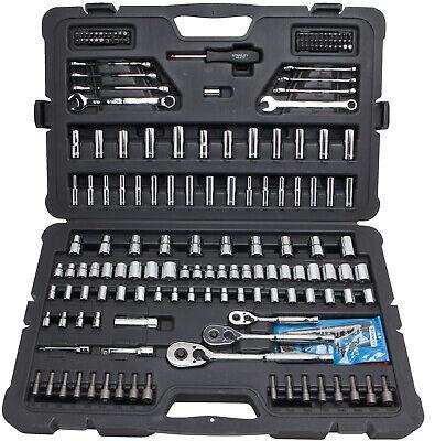 New Multi Tool Set Stanley Mechanics Corrosion Resistant Chrome Finish 201 Piece
