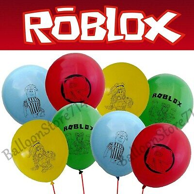 16 Latex ROBLOX Balloons ~ Birthday Party Supplies, Supply, Decorations, Themed - Themed Parties