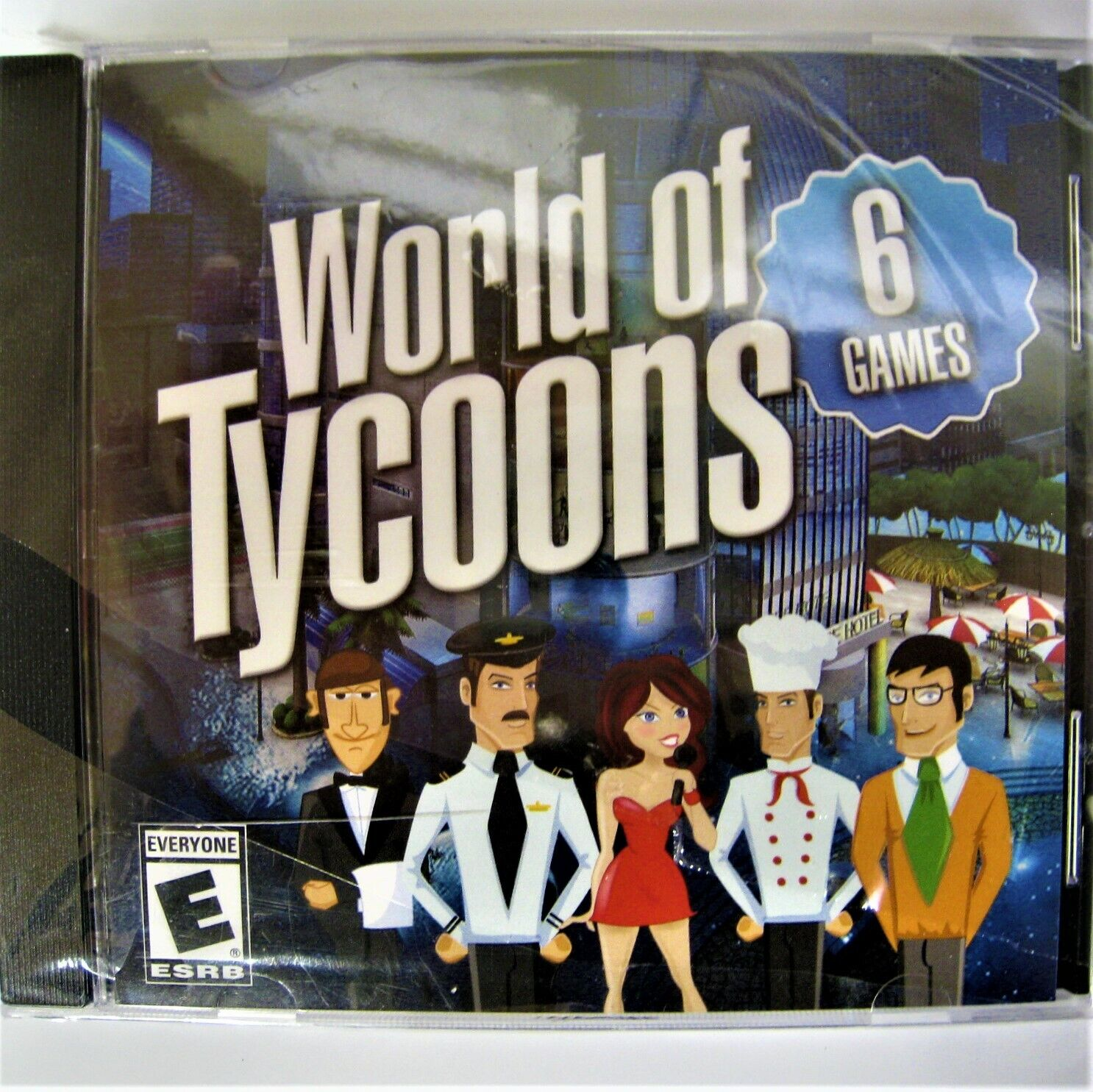 World of Tycoons, (PC Video Game) 6 Games UIG Entertainment RATED E