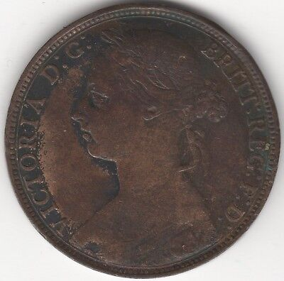 1889 Victoria One Penny | Pennies2Pounds (3)