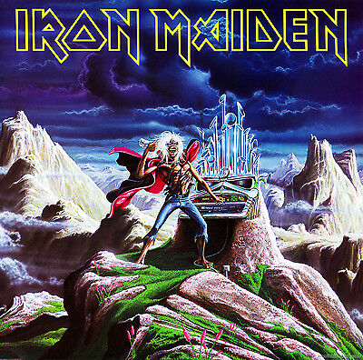 IRON MAIDEN - Run to the Hills Album Cover Art Print Poster 12 x 12