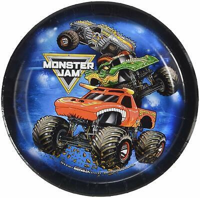 Monster Jam Trucks Grave Digger Kids Birthday Party 7