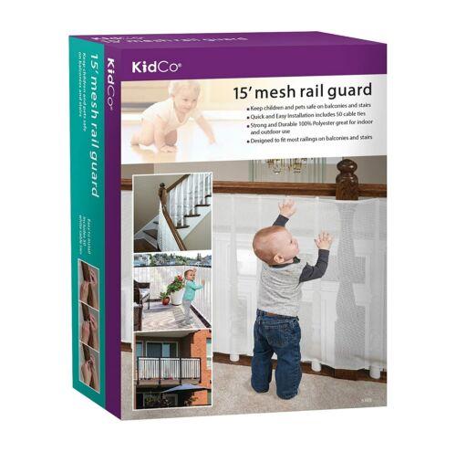 KidCo Toddler Mesh Rail Guard White 15