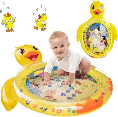BROADREAM Tummy Time Water Mat Baby Play Mat for Newborn Boys Girls Infants Todd