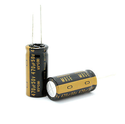 4pcs Japan Nichicon 470uf50v Most High-end Muse Kz Audio Electrolytic Capacitor