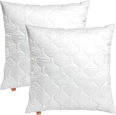 SLEEPING KOMFORT 100 KOPFKISSEN WEIß FÜR ALERGIKER GEEIGNET 2er SET 50 x 50 cm