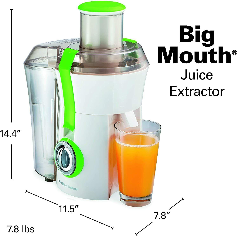 """Hamilton Beach  15"""" Juice Extractor 800 WATT - BPA FREE -  2"""