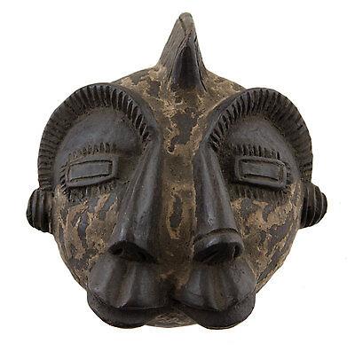 Mask African Passport Grade Janus Earth Cotta Art First 6378 E9B