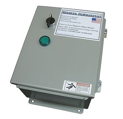 Elimia Air Compressor Pump Motor Starter 240v Coil 23-32 Amp 10 Hp Nema 12