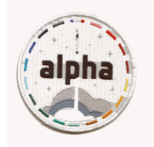 ESA Alpha Mission Patch for astronaut Thomas Pesquet on the Crew-2 Dragon Flight