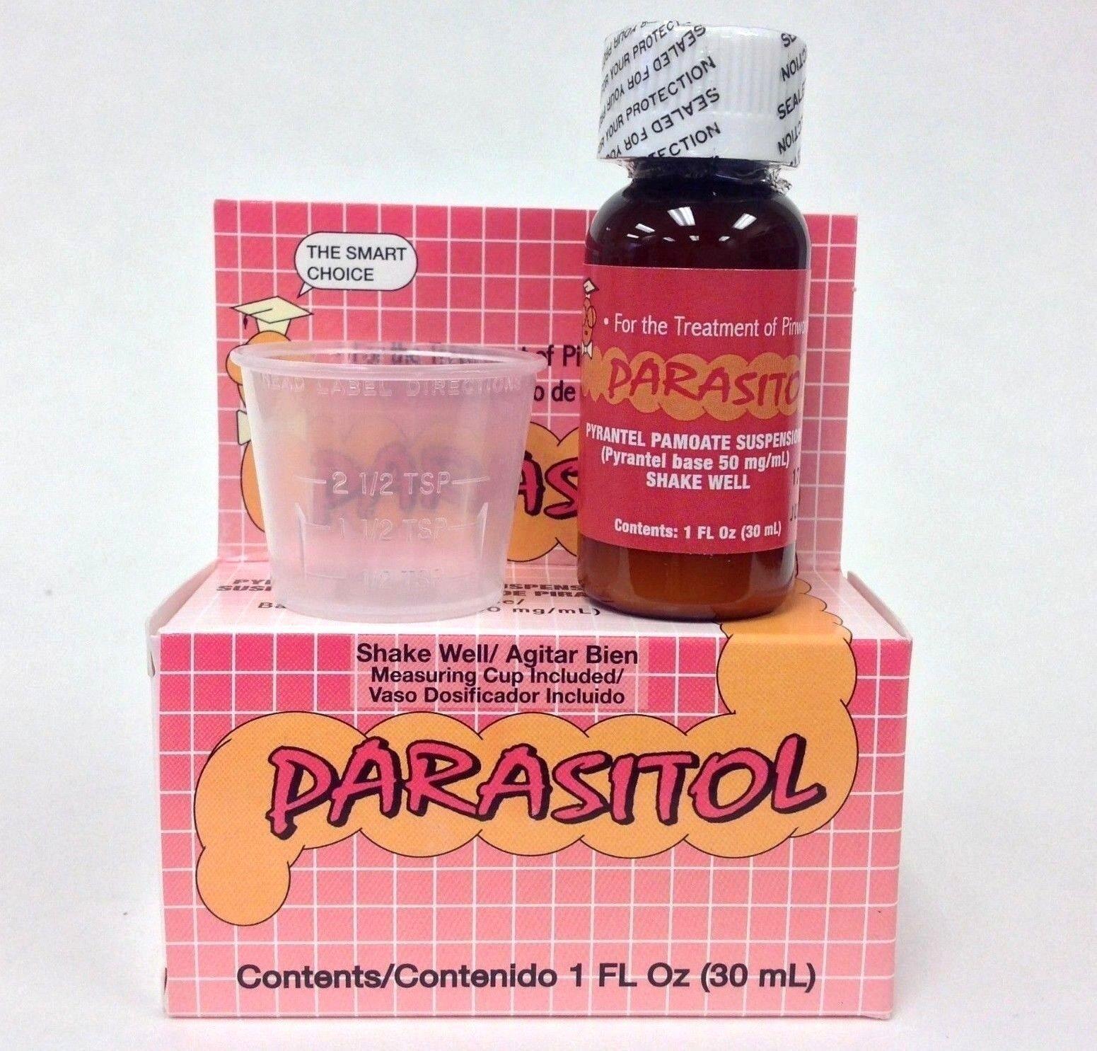 2 PARASITOL 1 oz REMOVE PARASITE HERBAL - ANTIPARASITE 1